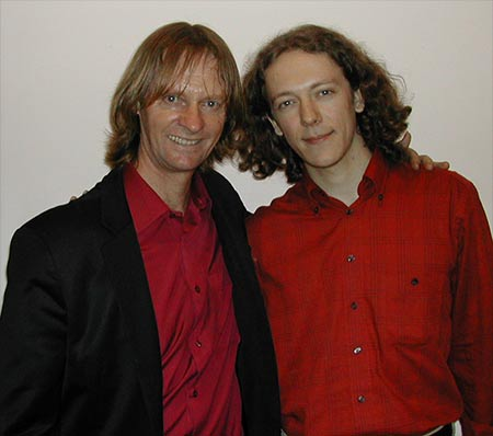 David Russel with me