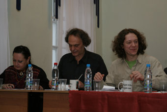 Jury of the First Alexander Frauchi International Classical Guitar Competition
